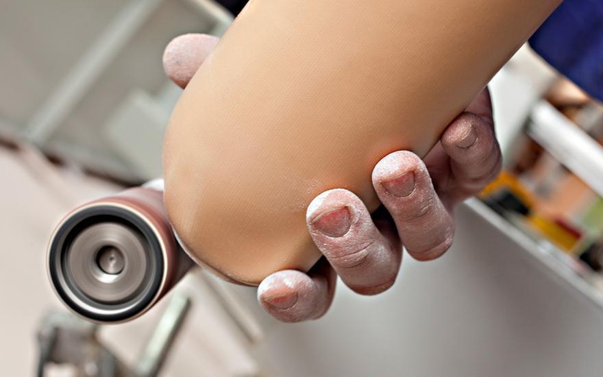 Polerowanie protezy